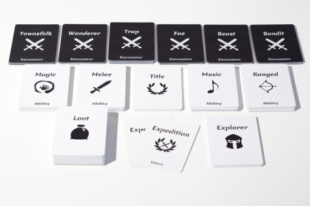The Expedition game set up